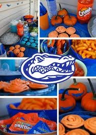 Great party ideas.. Florida gators style! ;)
