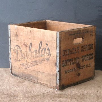 Too bad this vintage Dybala's Spring Crate, $39, now featured on Fab, would probably be too long to fit into my new Ikea EXPEDIT shelving unit, because other than that it'd be awesome. -MP