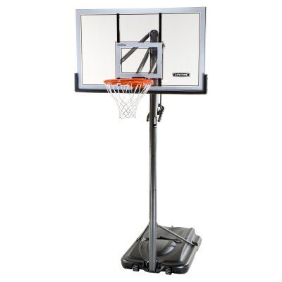 Lifetime 54 Inch Acrylic Portable Basketball Hoop - 71522, Durable