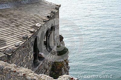 Castle by the sea in Portovenere