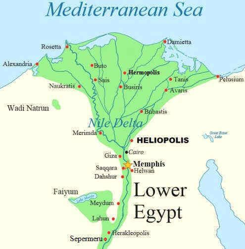 Best Maps Ancient Egypt Images On Pinterest Ancient Egypt - Map of egypt 3000 bc