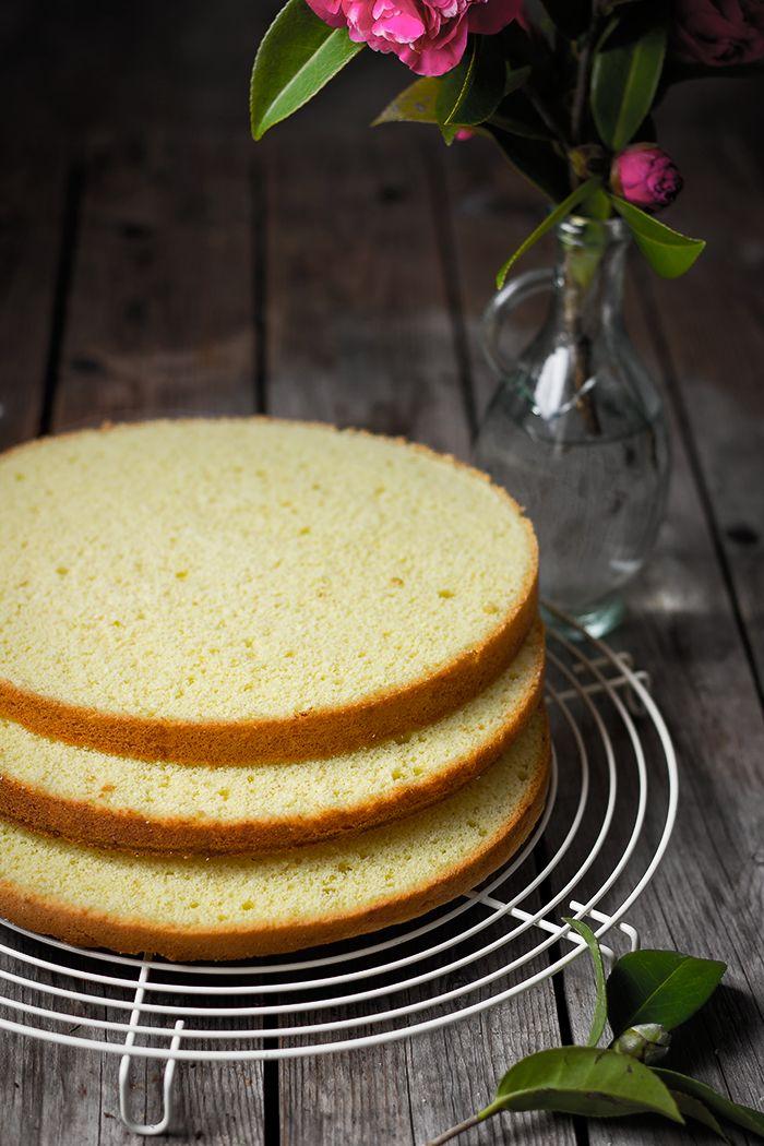 Bizcocho base para tartas