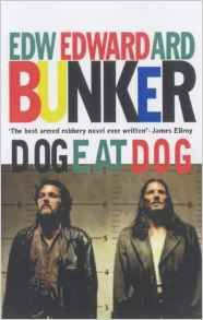 Dog eat dog by Edward Bunker. This is the tale of three unremorseful criminals with two felony convictions apiece and no more chances. Under California's 'Three Strikes' law, one more conviction - even for shoplifting - carries a mandatory life sentence with no prospect of remission. But a law intended to deter career criminals has the opposite effect on these three. Combined they have spent a lifetime behind bars and have no idea, or intention, of leading a straight life.