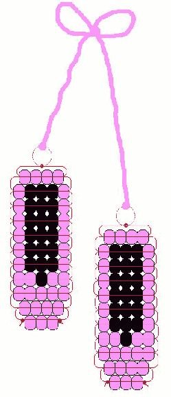 ballet shoe beads