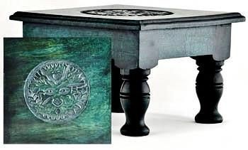 "Green Man Altar Table 8"" RAT632S"