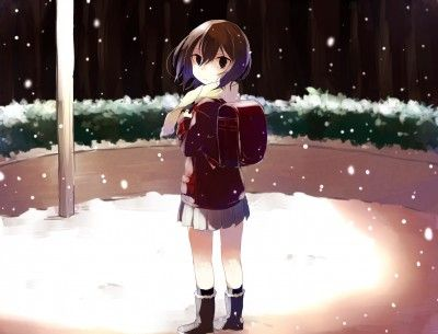 Anime Girl Kayo Hinazuki Boku dake ga Inai Machi