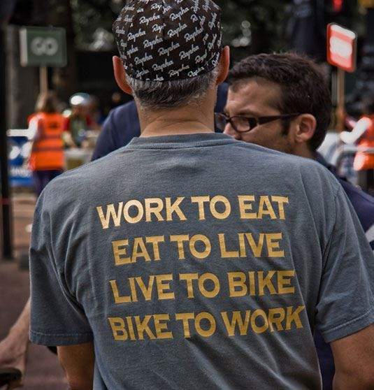 I've got to get this T-shirt for my hubby. #bike shirt :: bike to work