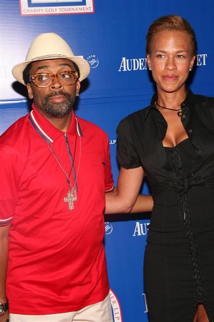 Spike Lee and Tonya Lewis