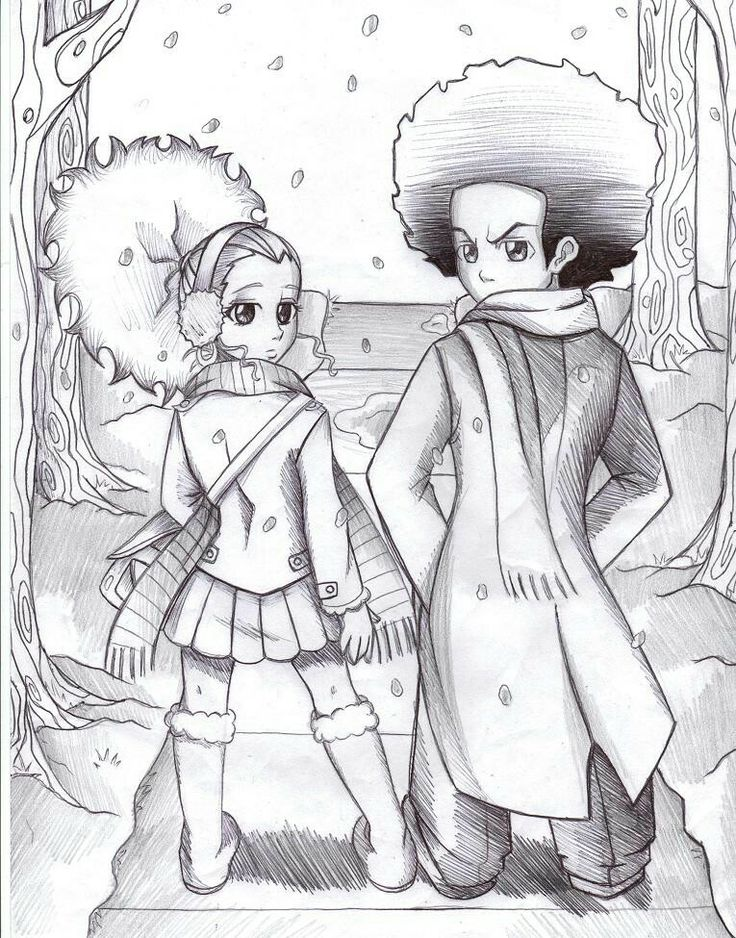 the boondocks coloring pages - 114 best images about boondocks on pinterest jasmine