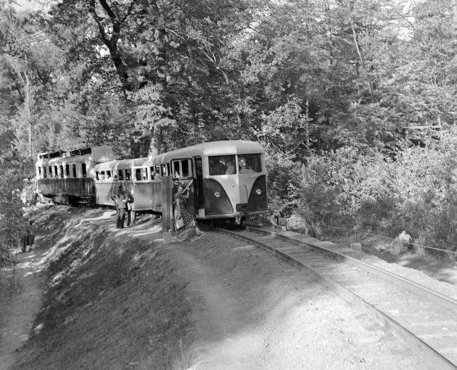 Budapest, 1953. Uttorovasut. Pioneer's railways.