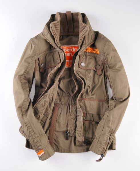 Superdry jacket. I have it in black now I must have this one