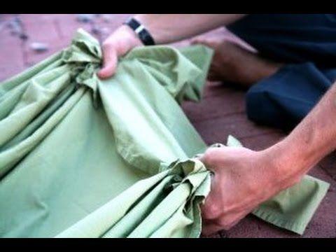 Делаем гамак своими руками - YouTube