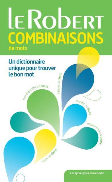 Télécharger Dictionnaire des combinaisons de mots pdf gratuit free download - FrenchPdf - Télécharger des livres pdf