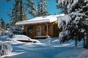 Every few years we spend Christmas at Big Bear. The cabins are affordable and stocked!