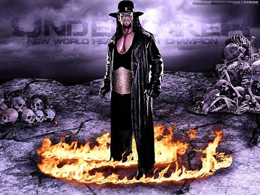 "Mark William Calaway (born March 24, 1965),[6] better known by his ring name The Undertaker, is an American professional wrestler. He is currently employed by the promotion WWE, where he has performed since 1990, making him one of the company's longest tenured employees.<p>Calaway began his wrestling career with World Class Championship Wrestling (WCCW) in 1984. After briefly wrestling for World Championship Wrestling (WCW) as ""Mean"" Mark Callous in 1989, he signed with the World Wrestling…"