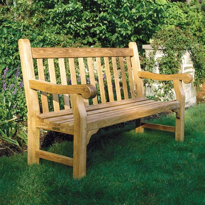 Kingley Bateu0027s Comfortable Hyde Park Bench Has Classic Proportions And Is  Fashioned From Heavy Teak Stock. Kingsley Bate Hyde Park Collection Bench    Here ... Part 57