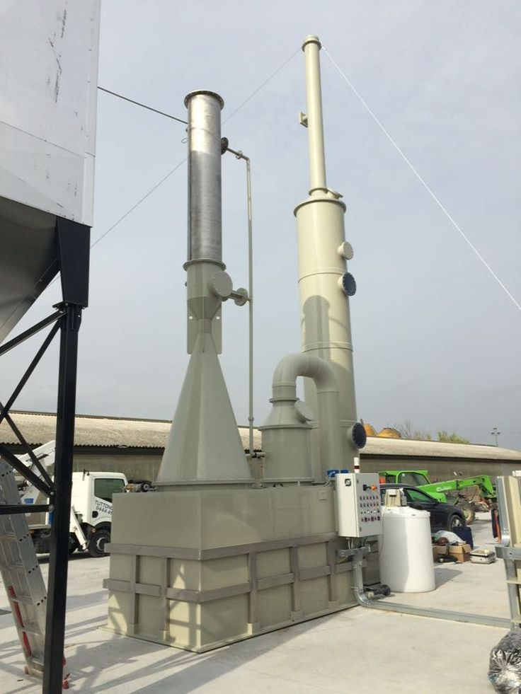 Have you installed a biomass incinerator  and have you got problems with your neighborhood for emissions? Here's our solution