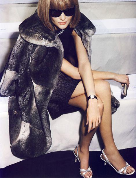 French Vogue: Vogue, Mario Testino, Annawintour, Fashion, Inspiration, Anna Wintour, Fur, People