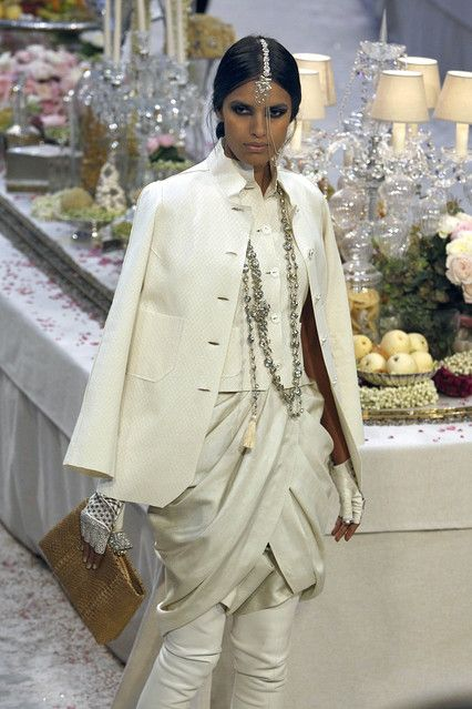 Chanel 2012 pre-fall Indian inspired collection