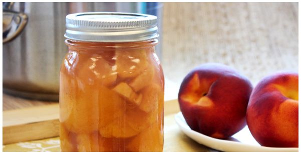 Ginger Honey Pickled Peaches. Recipe in comments