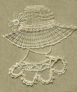 Easy bobbin lace pattern