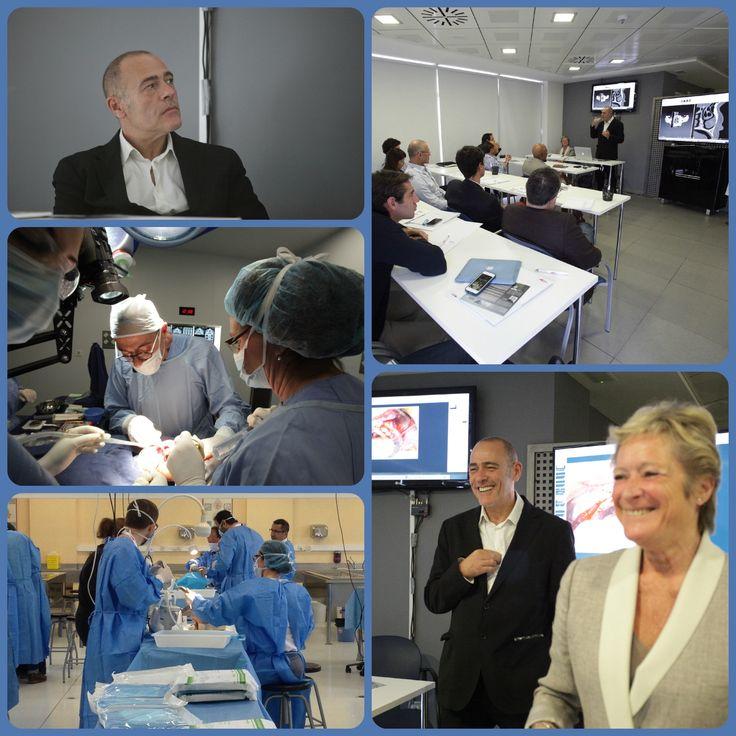 El Dr. Rubén Davó del #InstituoDavó, dirigió, la pasada semana, un curso especializado en la técnica del implante zigomático