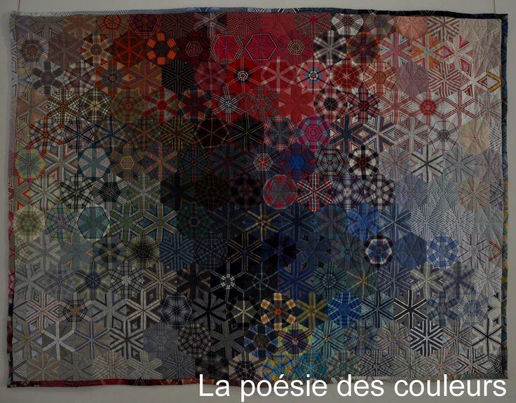 50 best carrefour europeen du patchwork 2015 images on pinterest jelly rolls mosaic and patchwork - Salon du patchwork sainte marie aux mines ...