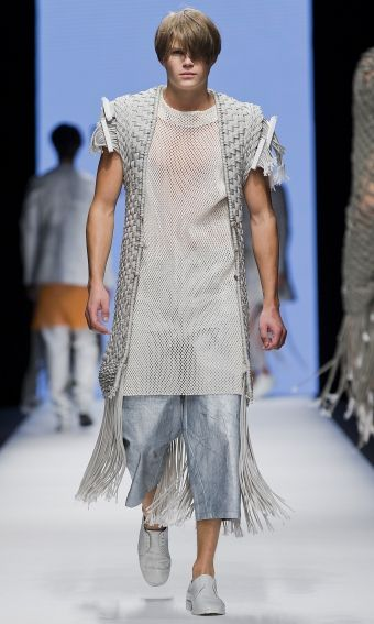 Per Hansson - The Swedish School of Textiles SS15 | Fashionweek