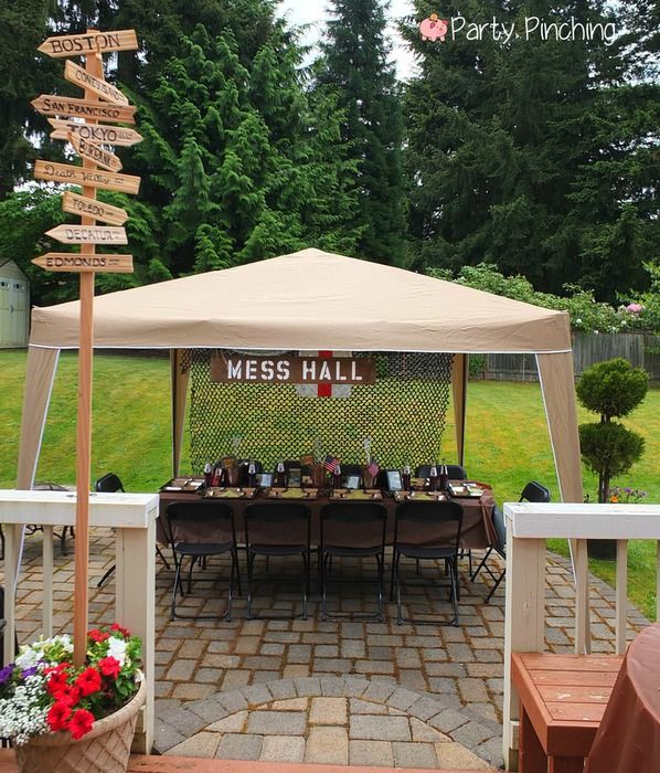 Party Planning - Party Ideas - Cute Food - Holiday Ideas -Tablescapes - Special Occasions And Events - Party Pinching - M*A*S*H Bash