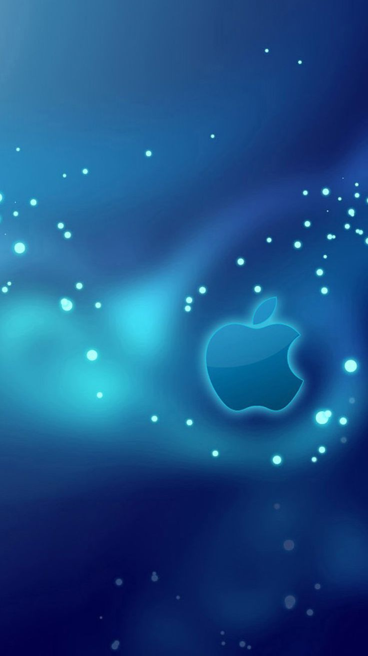 cool apple logos in space. blue star apple logo iphone 6 wallpapers cool logos in space d