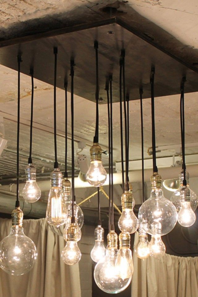 35 Best Edison Bulb Light Fixtures Images On Pinterest