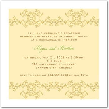 15 best Wedding Rehearsal Dinner images on Pinterest Rehearsal - dinner invitation sample