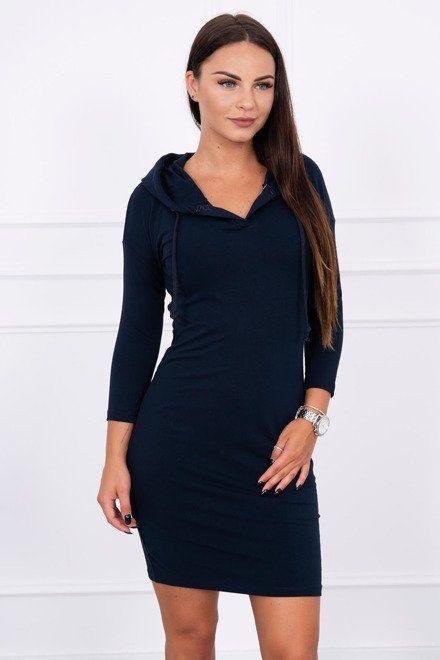 09ce57069604 Teplákové športové šaty námornícka modrá