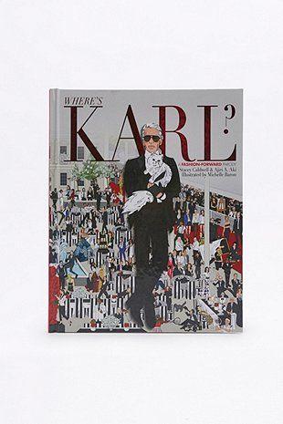 Where's Karl?: A Fashion-Forward Parody Book