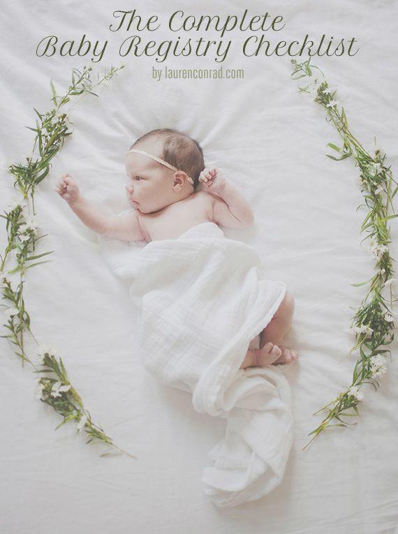 Oh bebé: La lista de verificación del registro completo del bebé