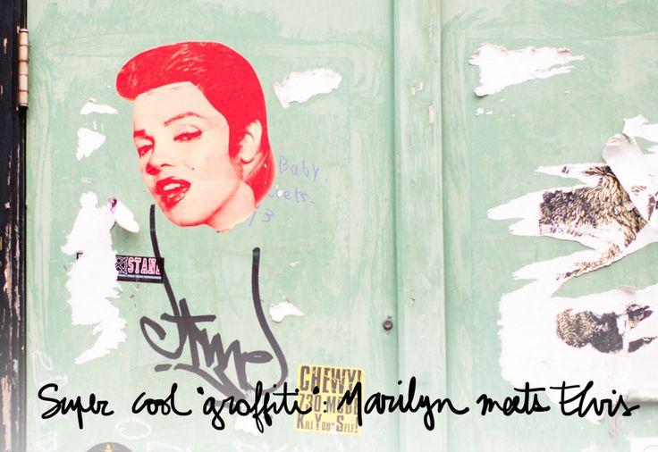 Elvis, graffiti, inspiration, Marilyn Monroe, Miami