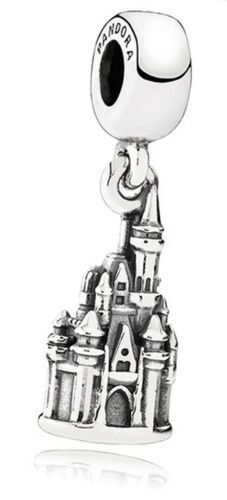 "NEW Disney Park Pandora Exclusives Spring 2015 Collection is here! CINDERELLA's CASTLE!!! Finally an Official Cinderella's Castle Charm! Inscribed with ""Walt Disney World"" on the bottom!"