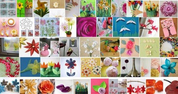 Lavoretti per bambini fiori e più progetti