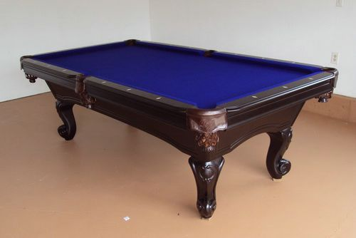 Solid Wood 6 Foot Pool Table