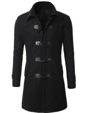 Mens Wool Duffle Coat