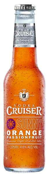 Vodka Cruiser Orange & Passionfruit.