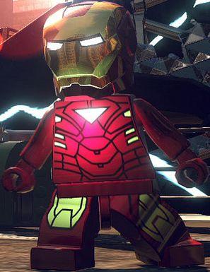 Anthony STARK (IRON MAN)   Earth 13122   Mark VI   Lego Marvel SUPER HEROES