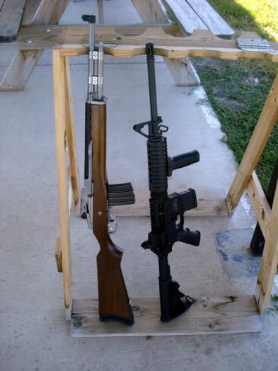 Mini 14 vs. AR-15