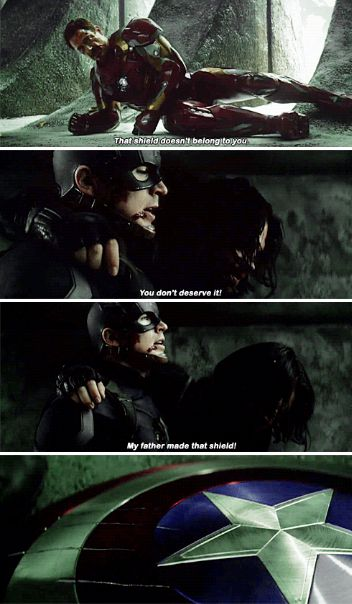 I can't. <-The Russos have described this as him embracing the Steve Rogers identity over the Captain America identity. This moment was so powerful.