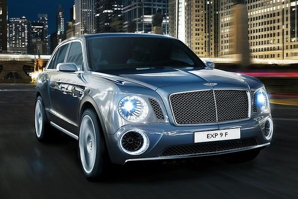 New Bentley SUV..Brilliant