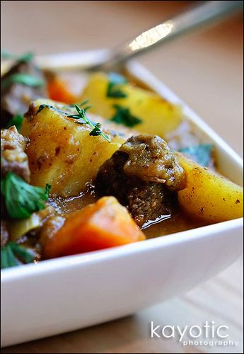 Dutch Beef Stew - classic comfort food favorite.