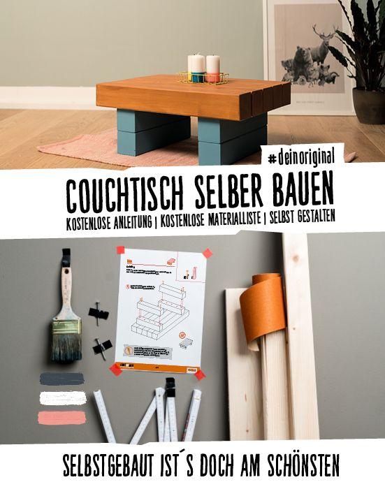Couchtisch Bernd selber bauen Alle Möbel CREATE! by OBI