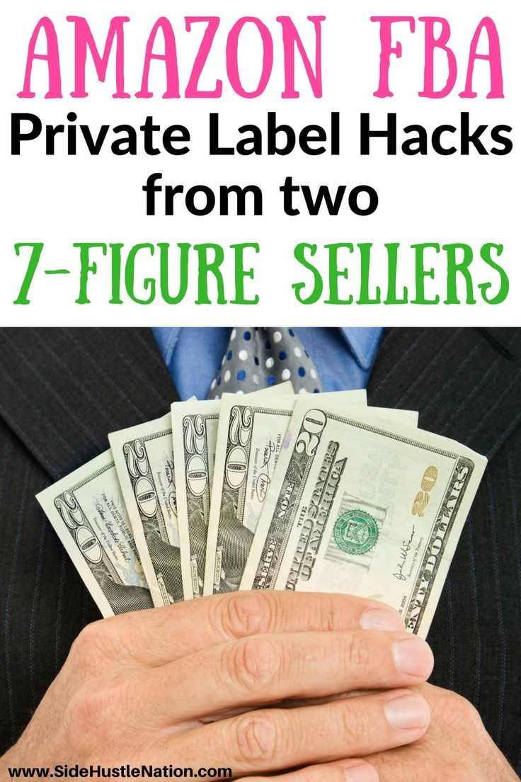 Amazon FBA private label hacks from two 7-figure sellers...where were these guys when I was struggling to start a private label Amazon FBA gig? Don't make the same mistake I did, check out these best Amazon FBA private label hacks to start making real money ASAP.  How to get started with Amazon FBA private label sales and how to take your Amazon FBA private label sales revenue to the next level.