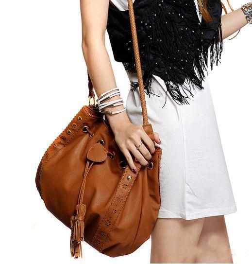 Купить товар2015 мода кожа ведро сумки высокое качество женщины сумки на ремне шнурок женская сумка креста тела женские ведро мешок в категории Вместительные сумкина AliExpress.        Цвет: коричневый, черный                 Пол: женский                 Материал: искусственная кожа