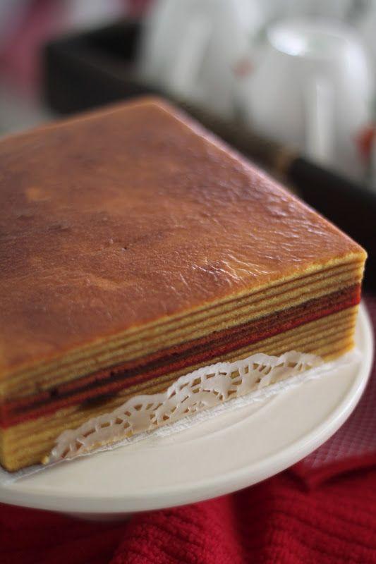 榴莲千层蛋糕(Kek Lapis Durian)